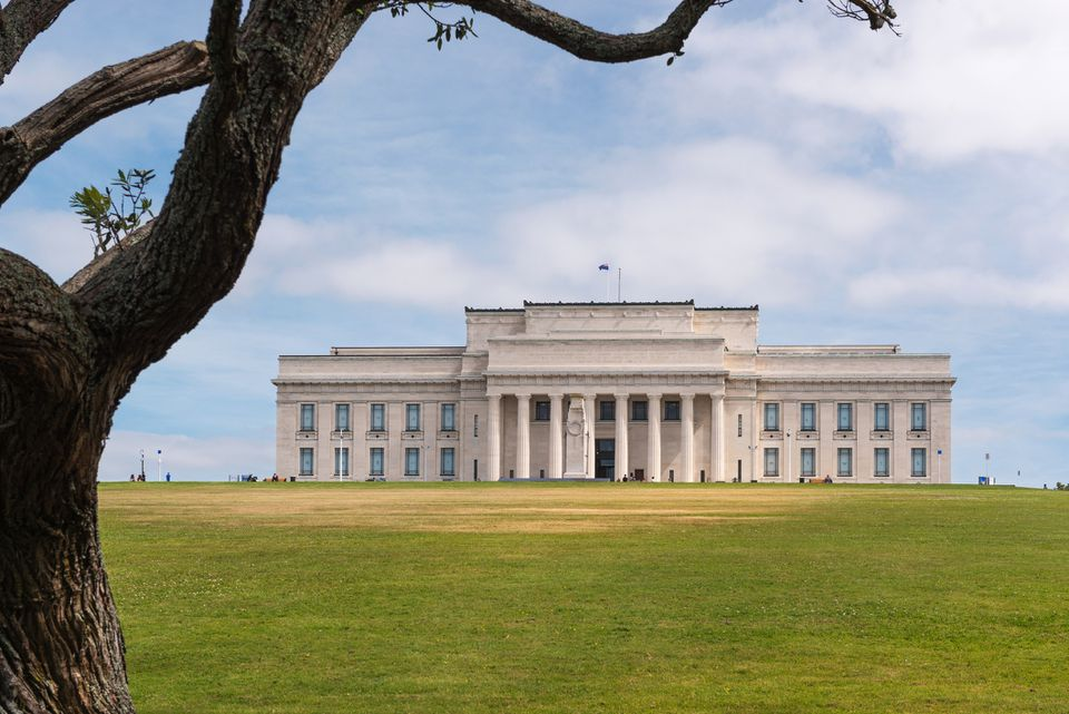 Auckland War Memorial Museum. Getty Images / Aumphotography