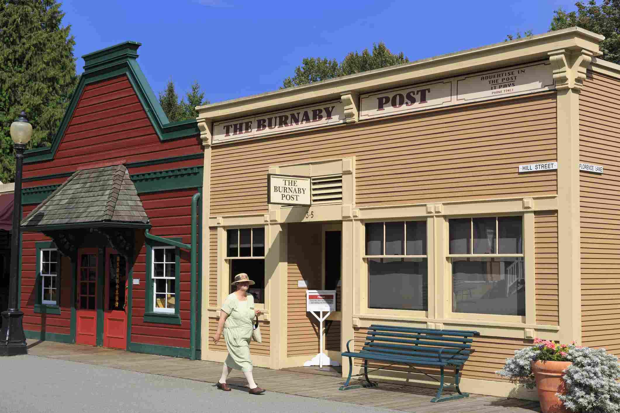 Historic village in BC