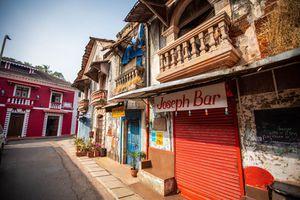 Goa's Fontainhas Latin Quarter