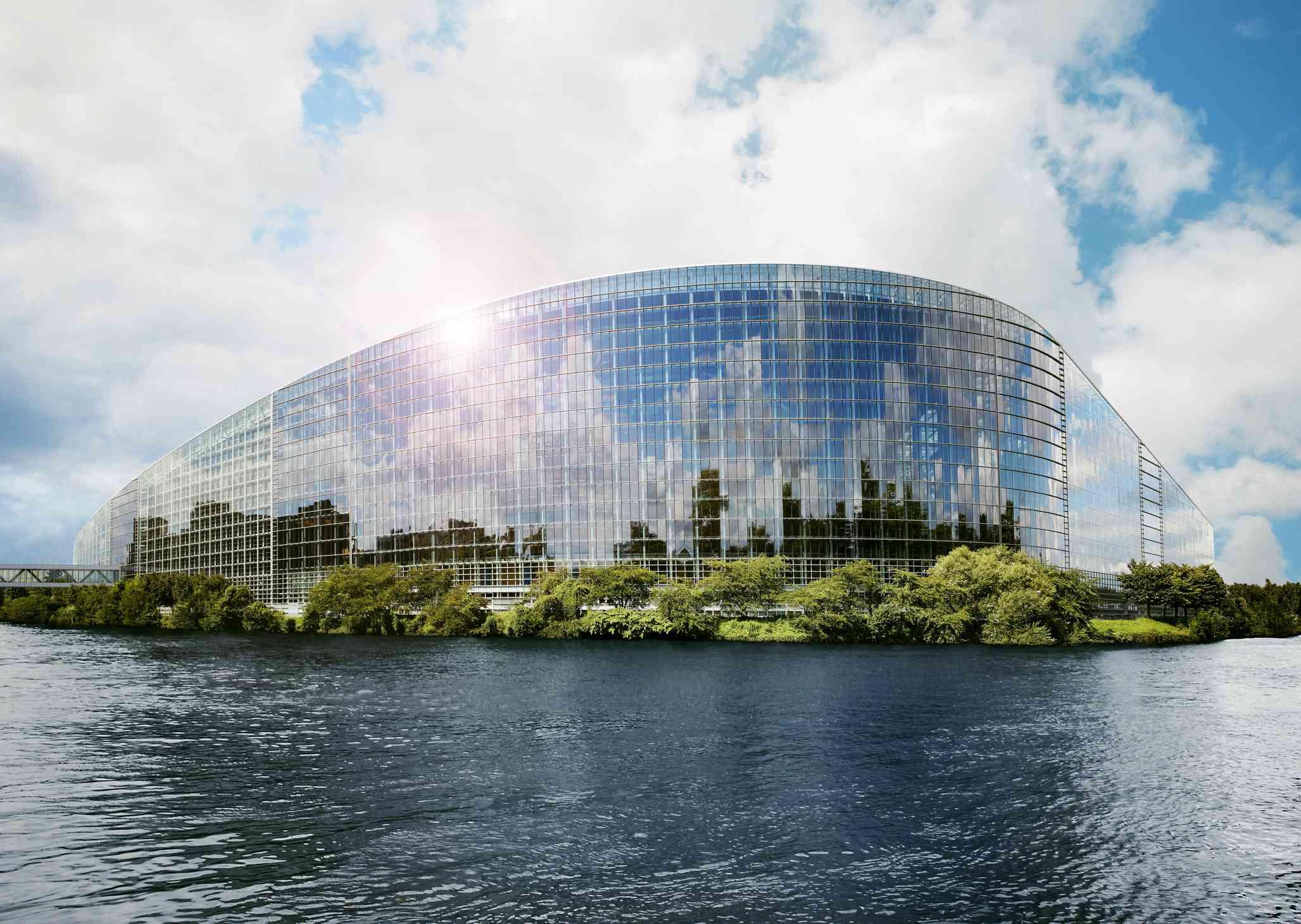 European Parliament in Strasbourg, France
