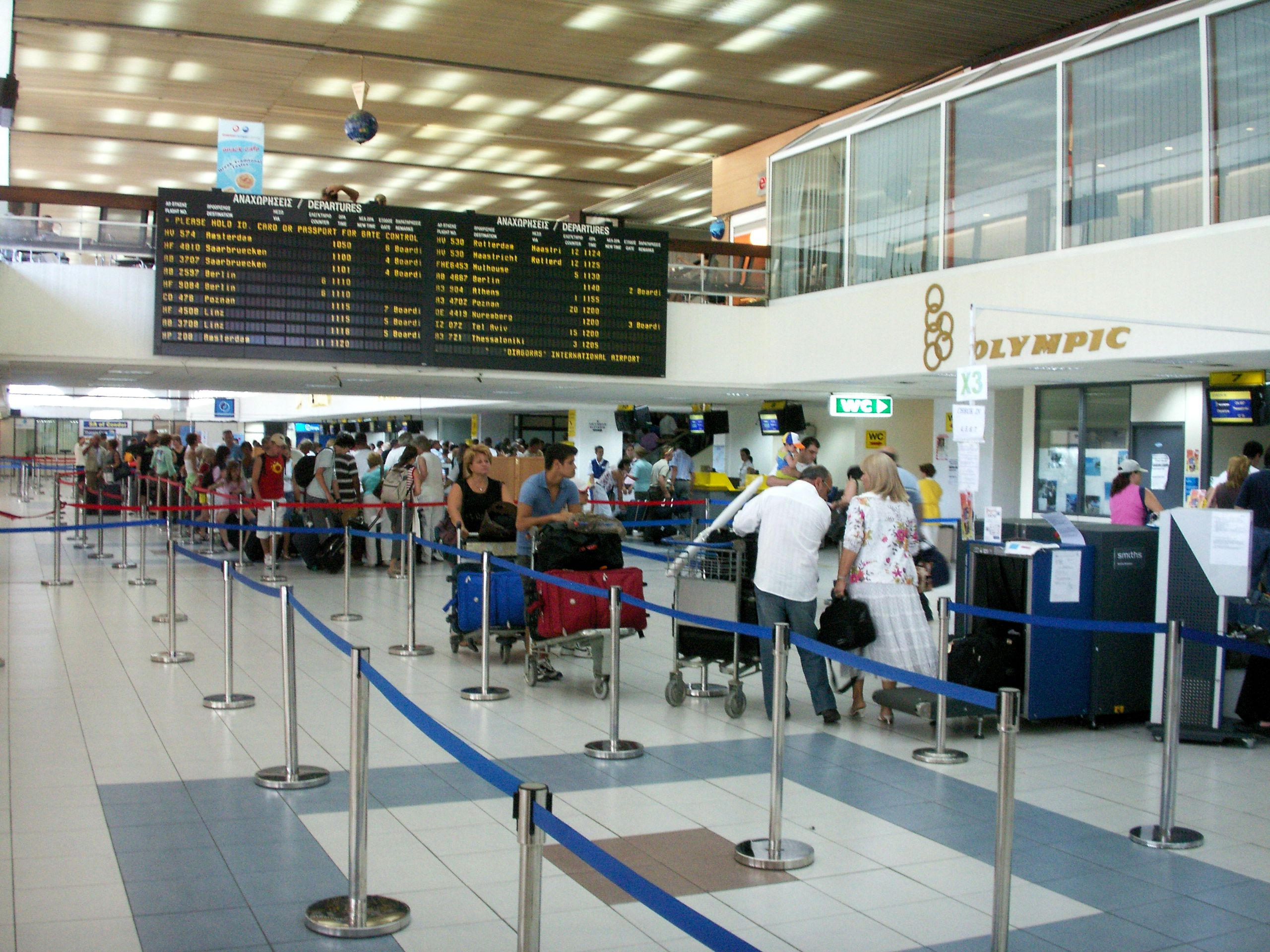 IATA Codes for Airports in Greece