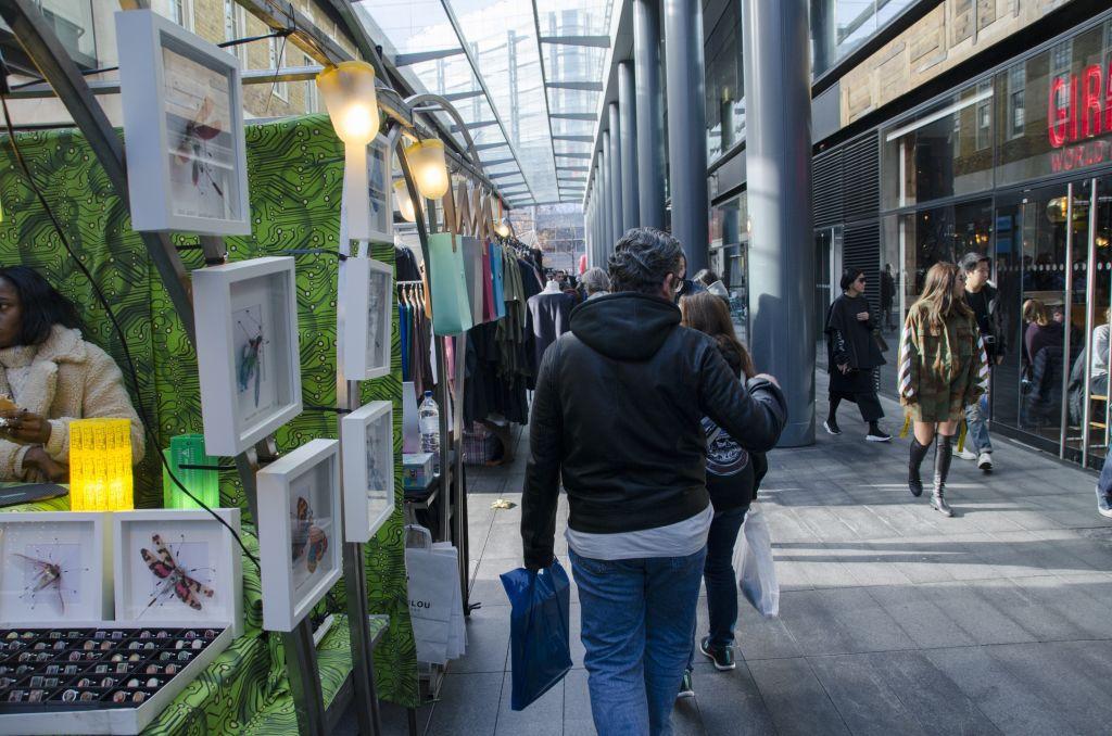 Old Spitalfields Market in London