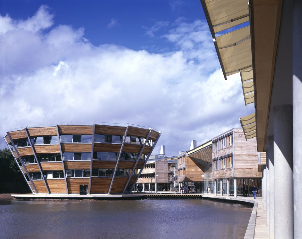 The Jubilee Campus at the University of Nottingham