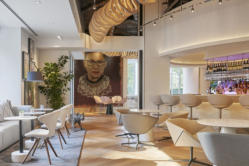 Hotel Zena Figleaf bar Ruth Bader Ginsburg