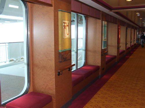Window Seats on the Norwegian Pearl