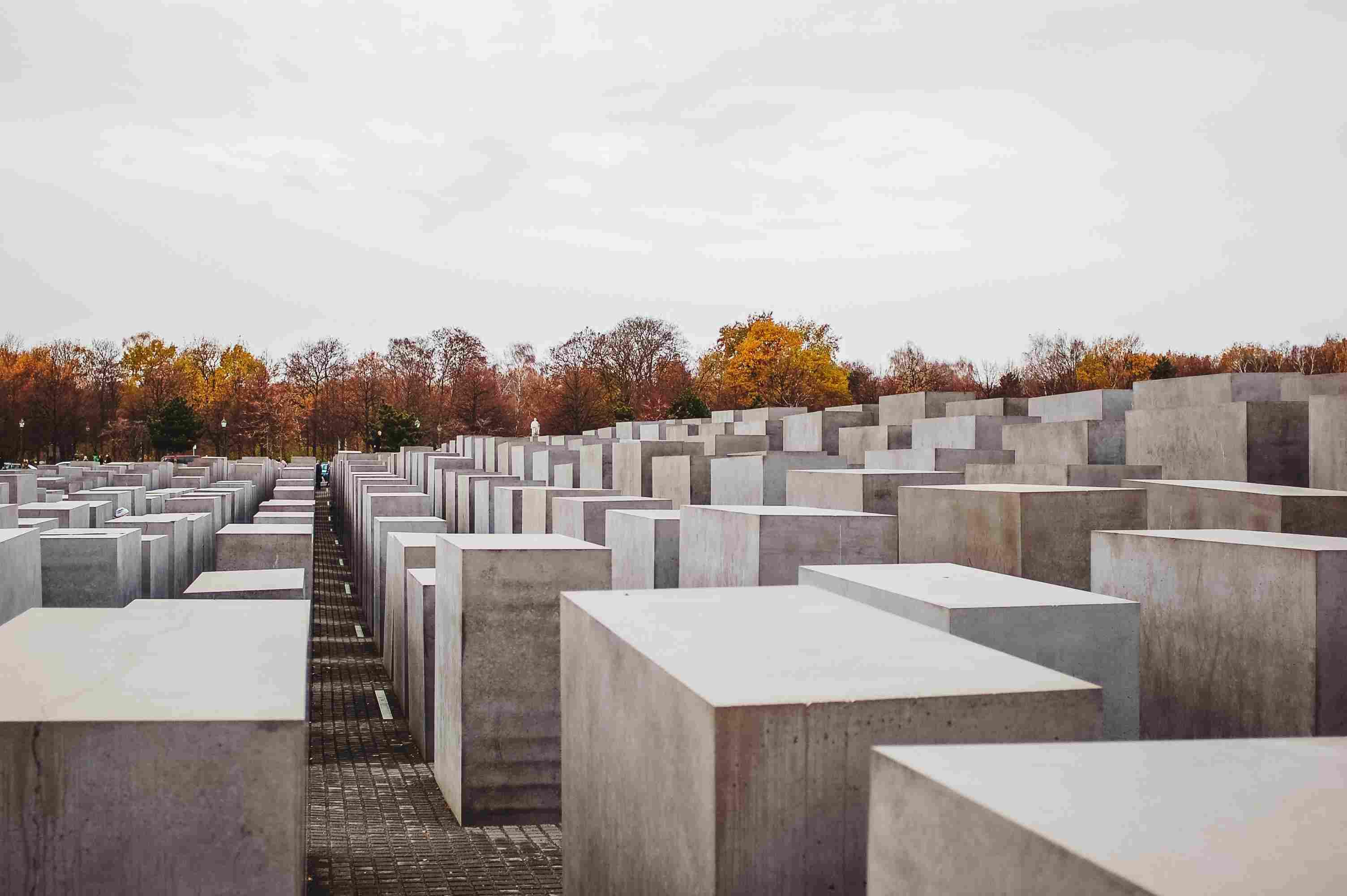 El monumento judío en Berlín