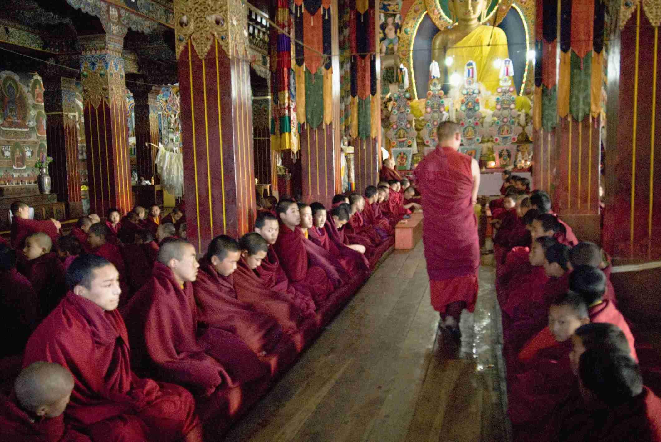 Prayer Hall at Tawang Monastery