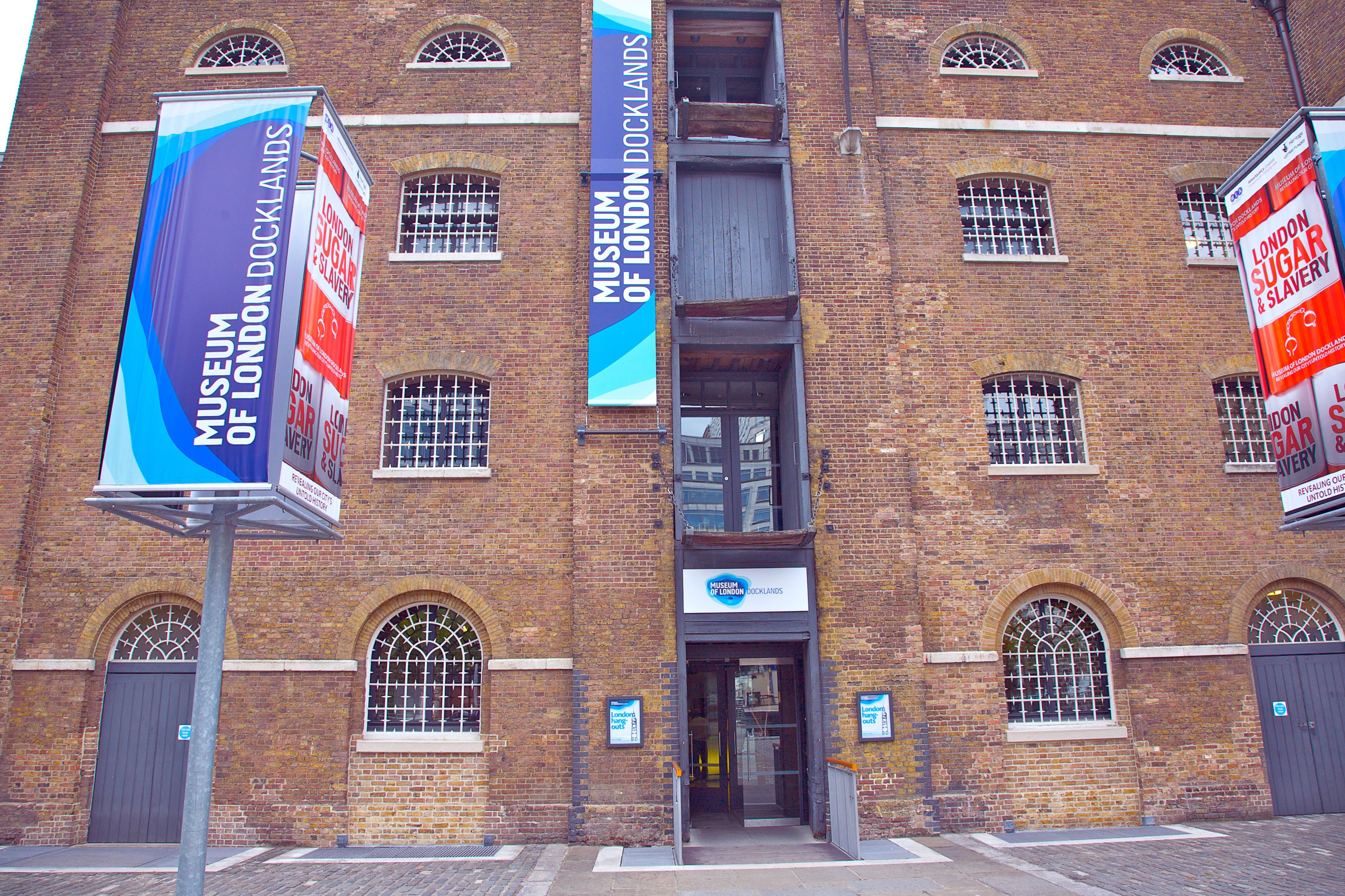 D Exhibition Docklands : Docklands museum of london facts and ideas