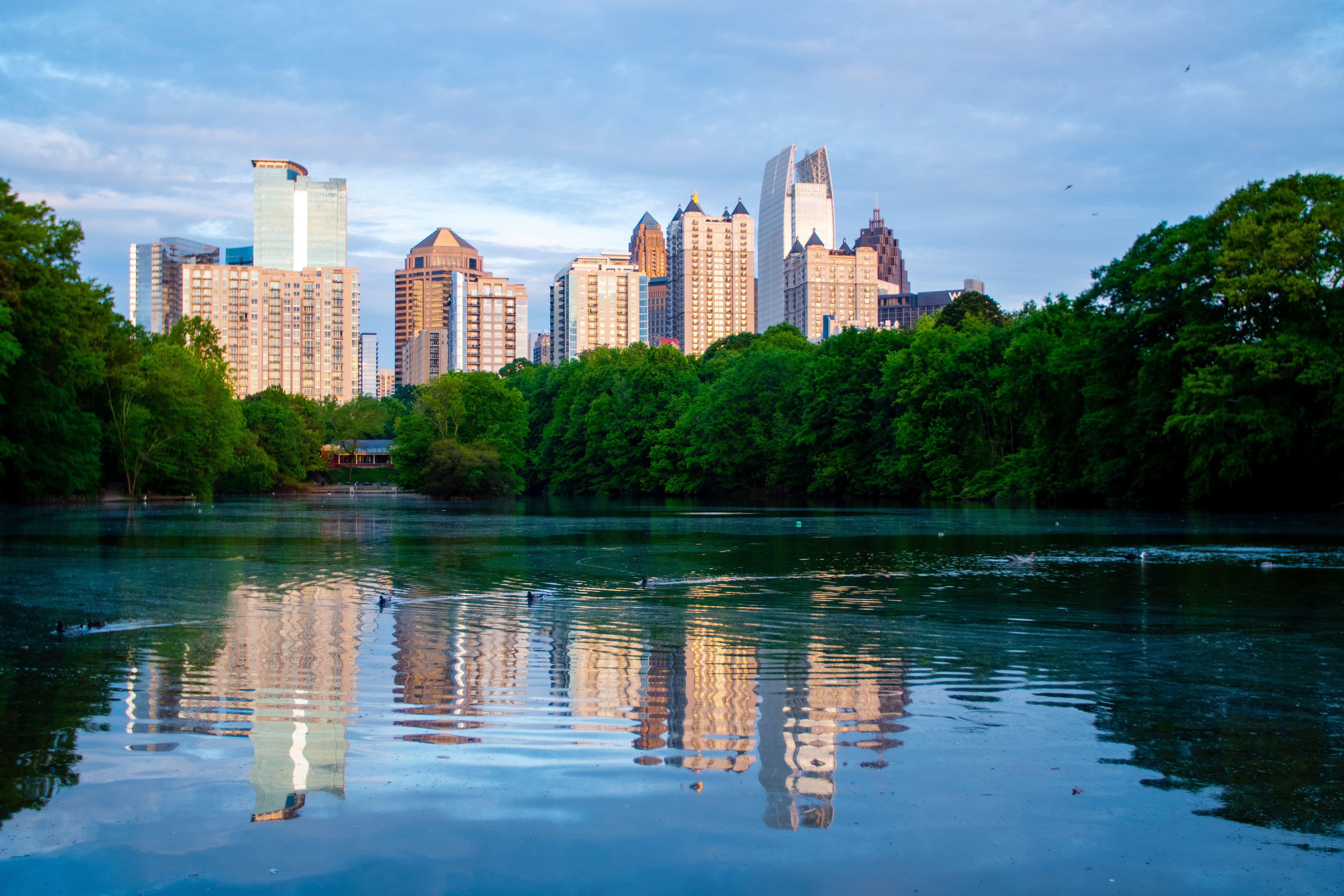 Un parque en Atlanta
