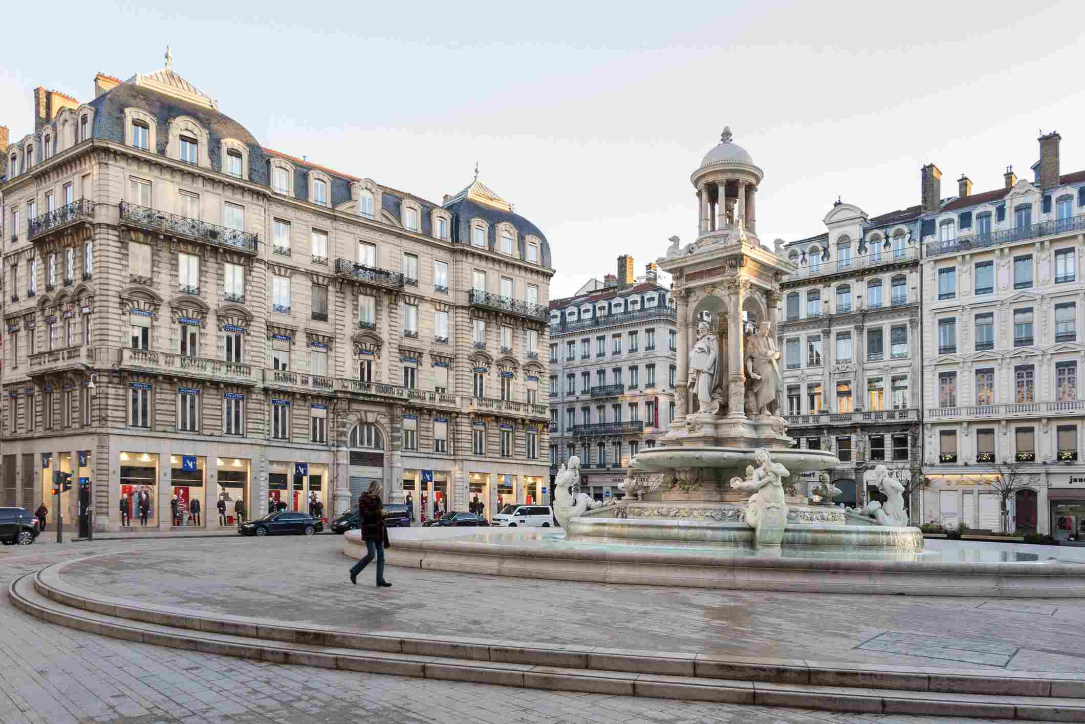 The Place des Jacobins, Lyon ,France