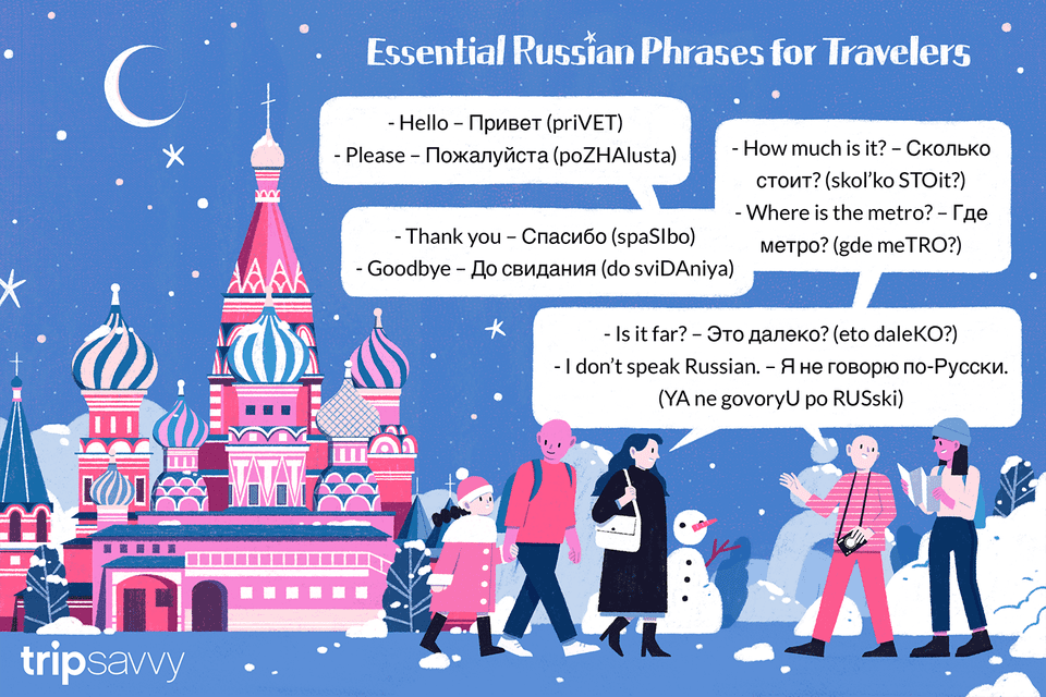 Helpful Russian phrases
