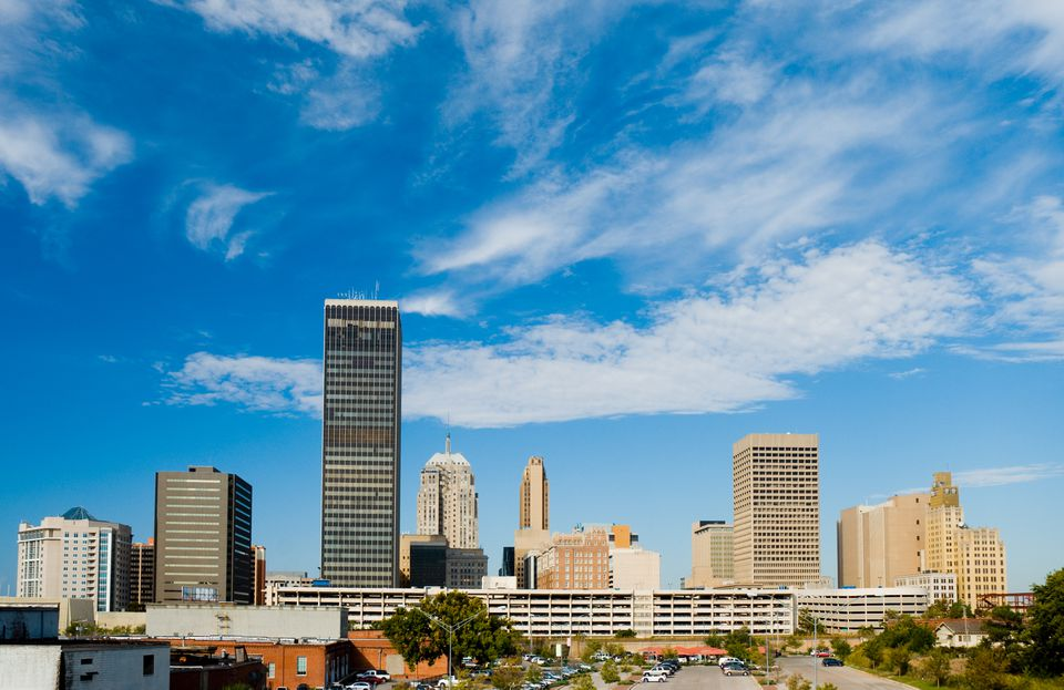 Oklahoma City skyline during the day