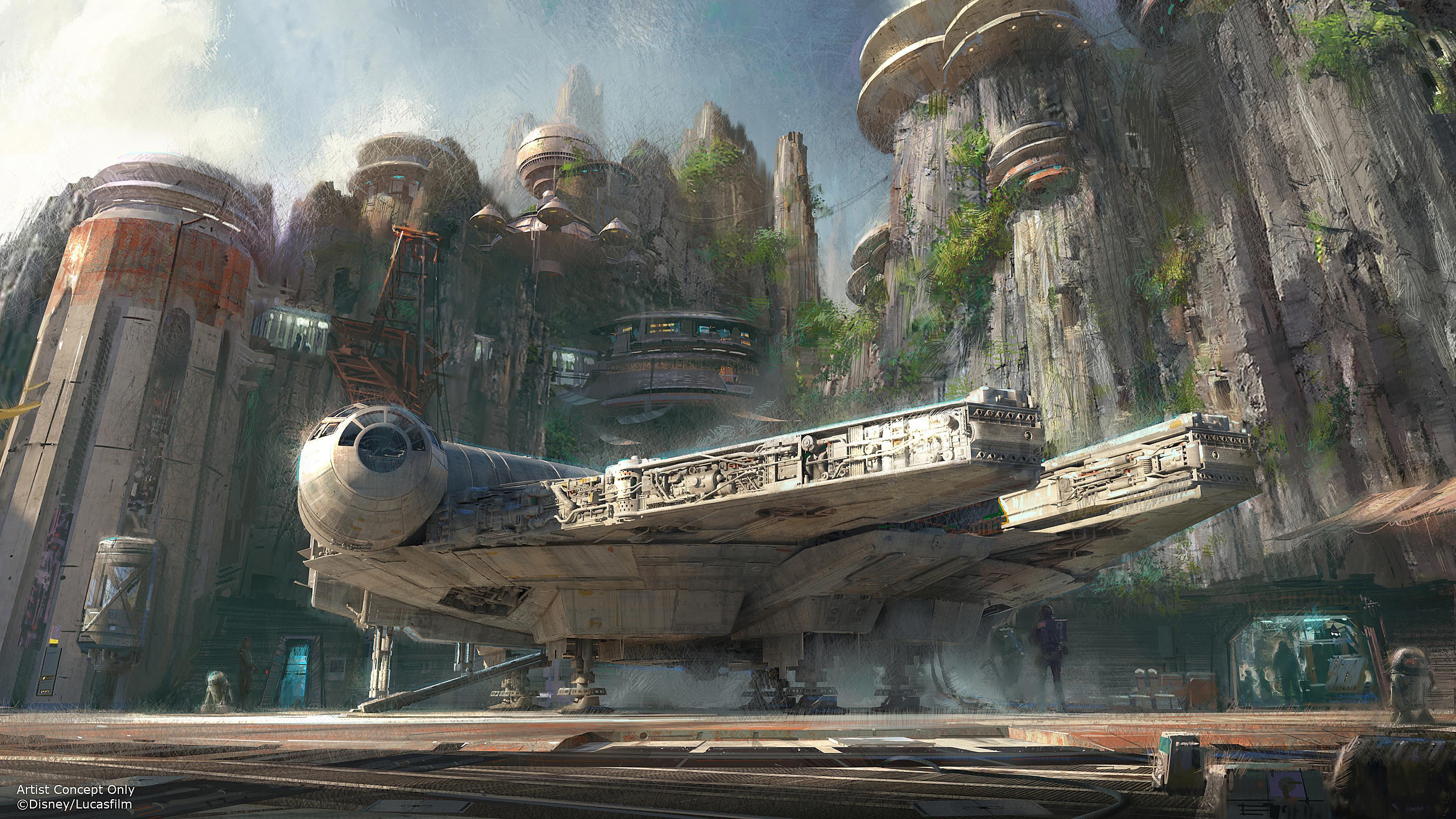 Star Wars Galaxy's Edge at Disneyland