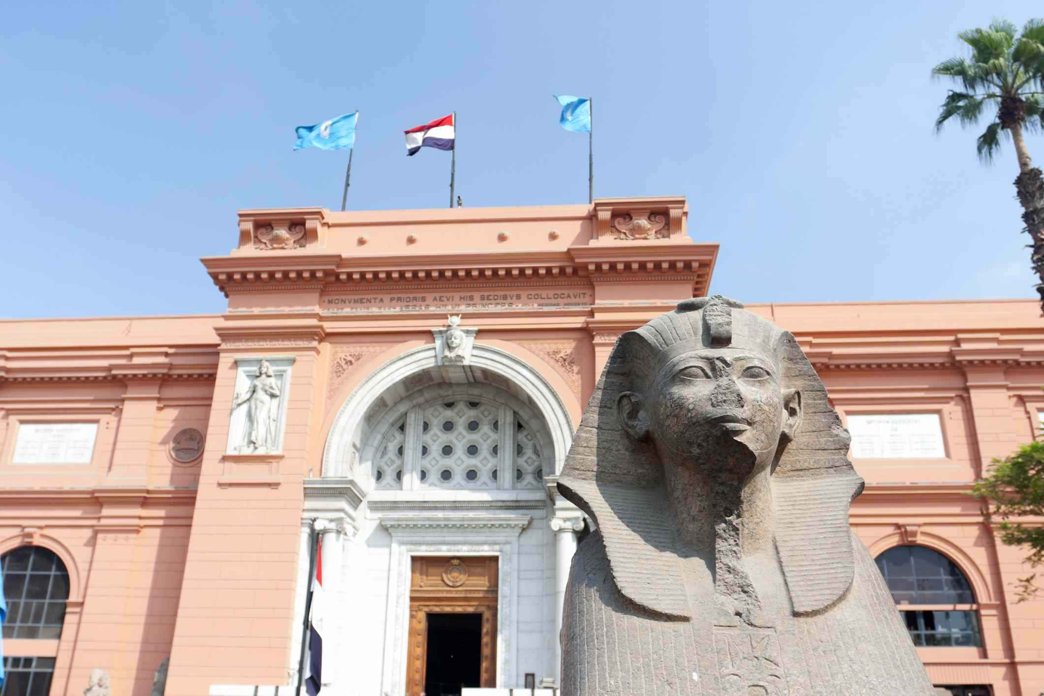 Entrance to the Egyptian Museum, Cairo