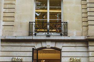 Brand name store at Avenue Montaigne