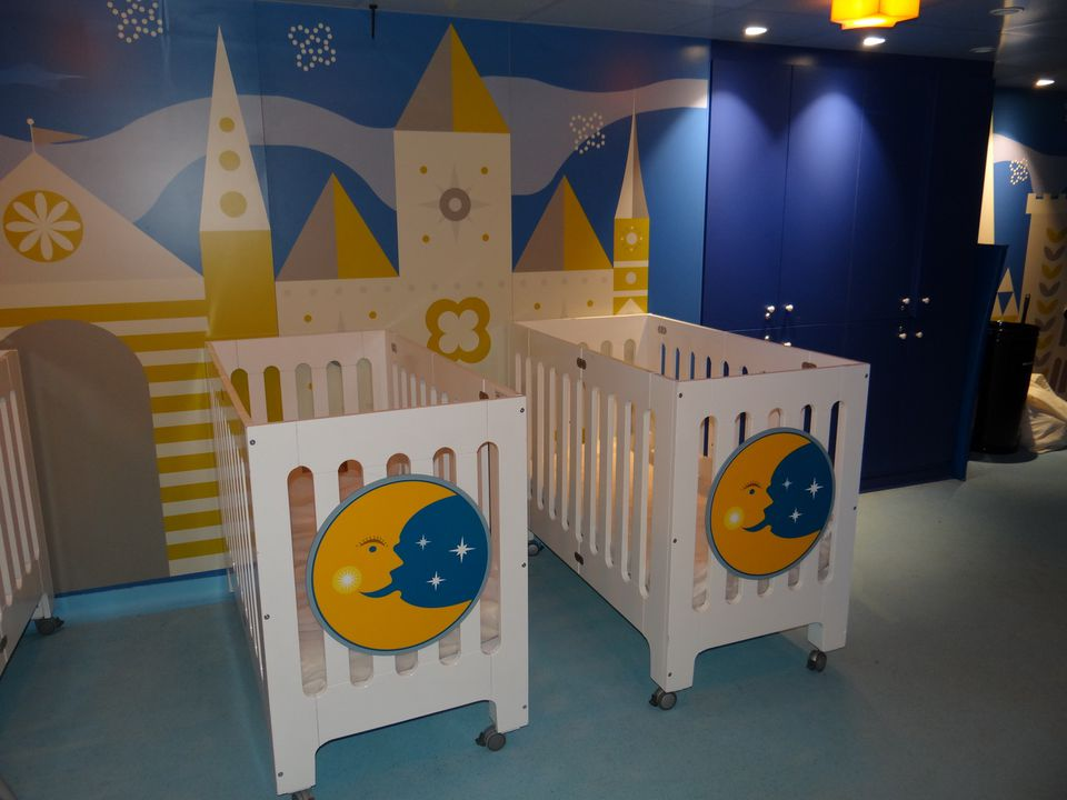 It's a Small World Nursery on the Disney Magic