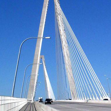 The Arthur Ravenel Jr. Bridge, also known as the Cooper River Bridge