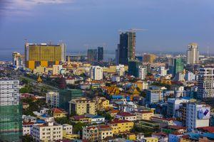 Phnom Penh, Cambodia, skyline