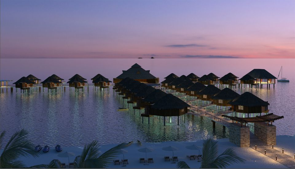 Karisma Resorts overwater bungalows