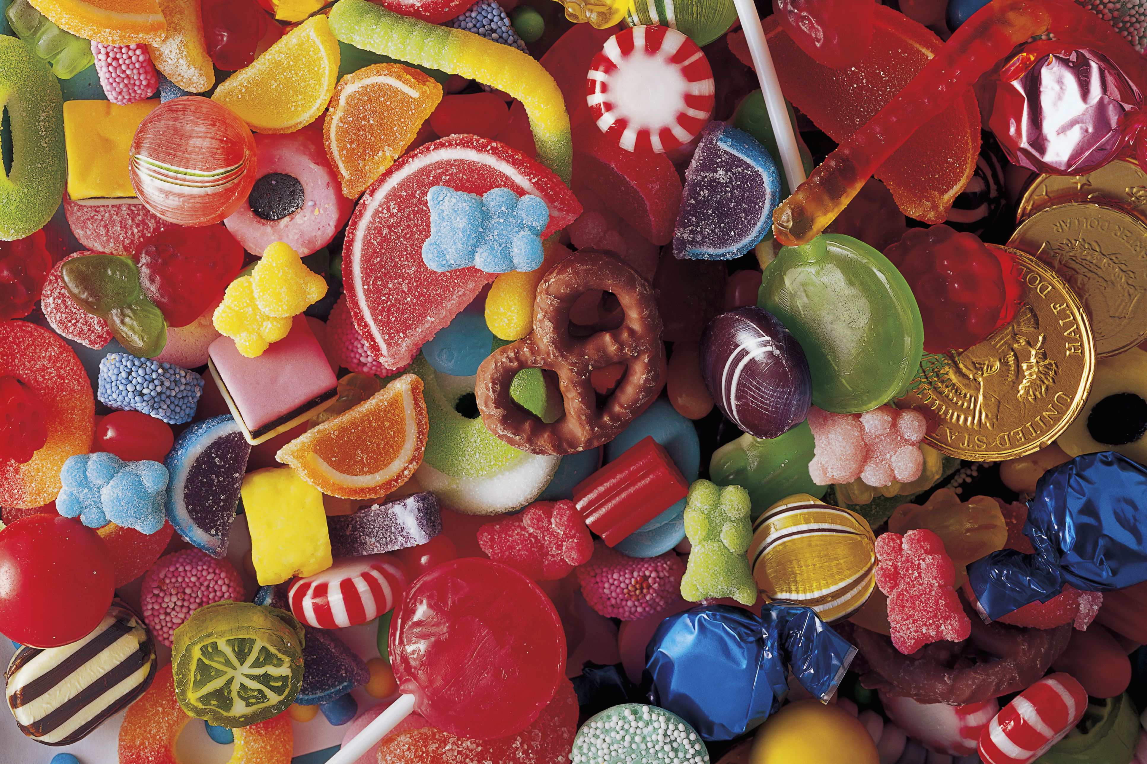 variety mix of sweets