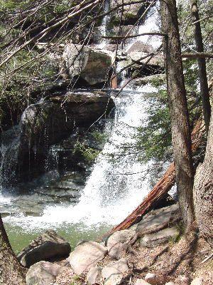 Bastion Falls Photo - NY Waterfall