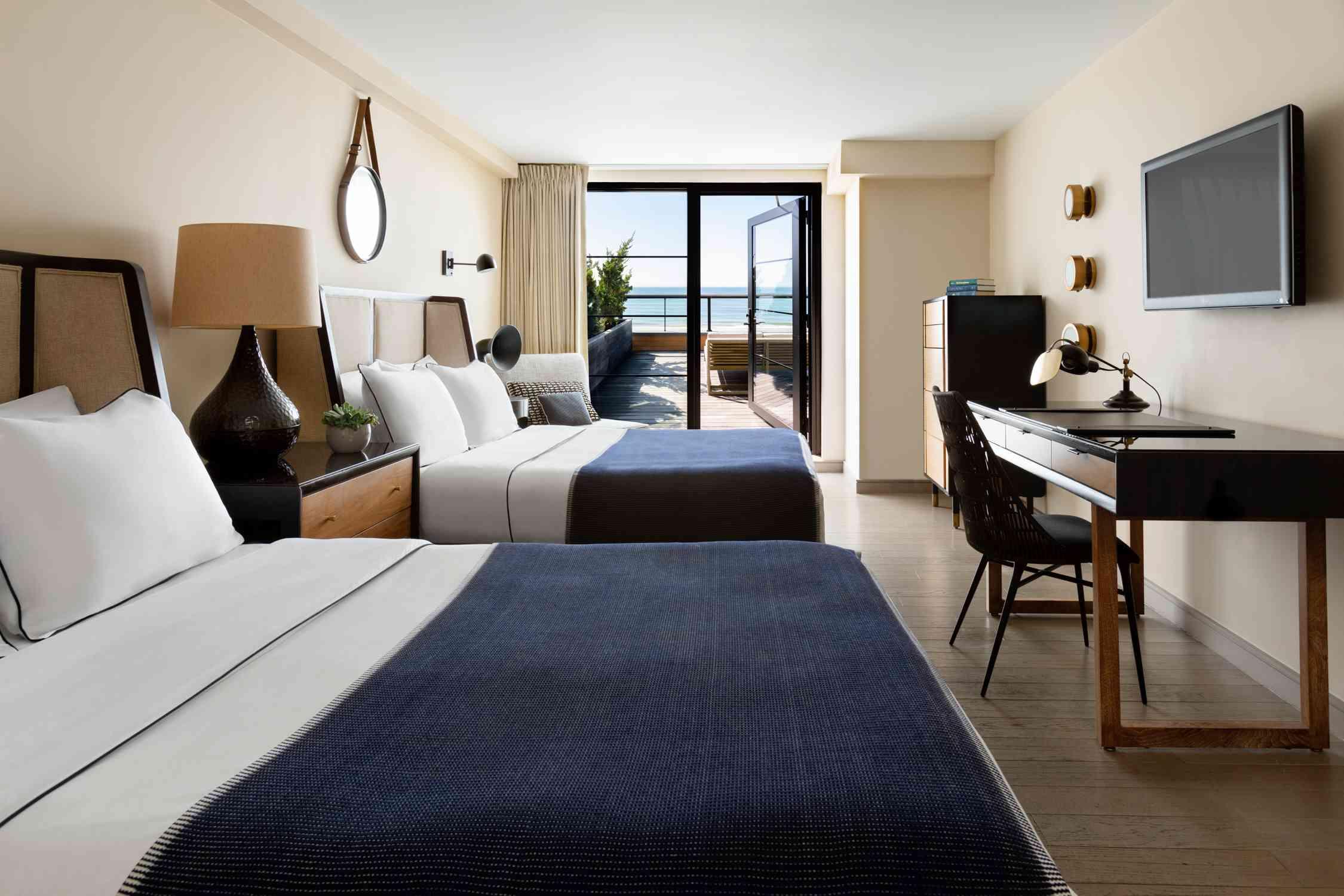 Standard room at Gurney's Montauk Resort & Seawater Spa