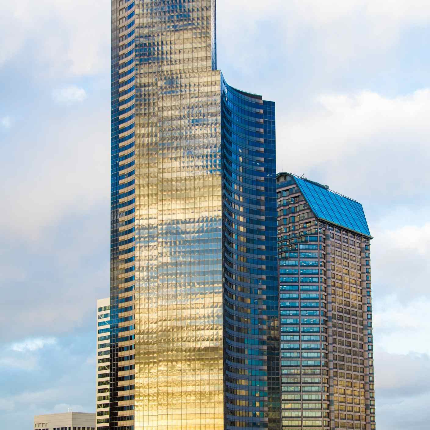 Columbia Center in Seattle at Sunset