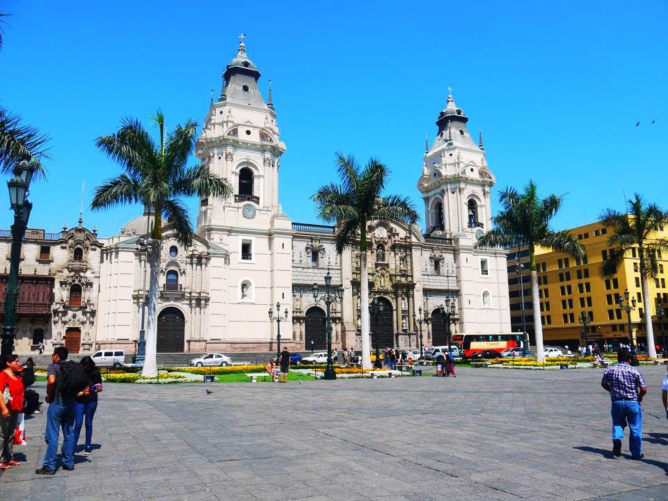 Plaza de Armas en Lima