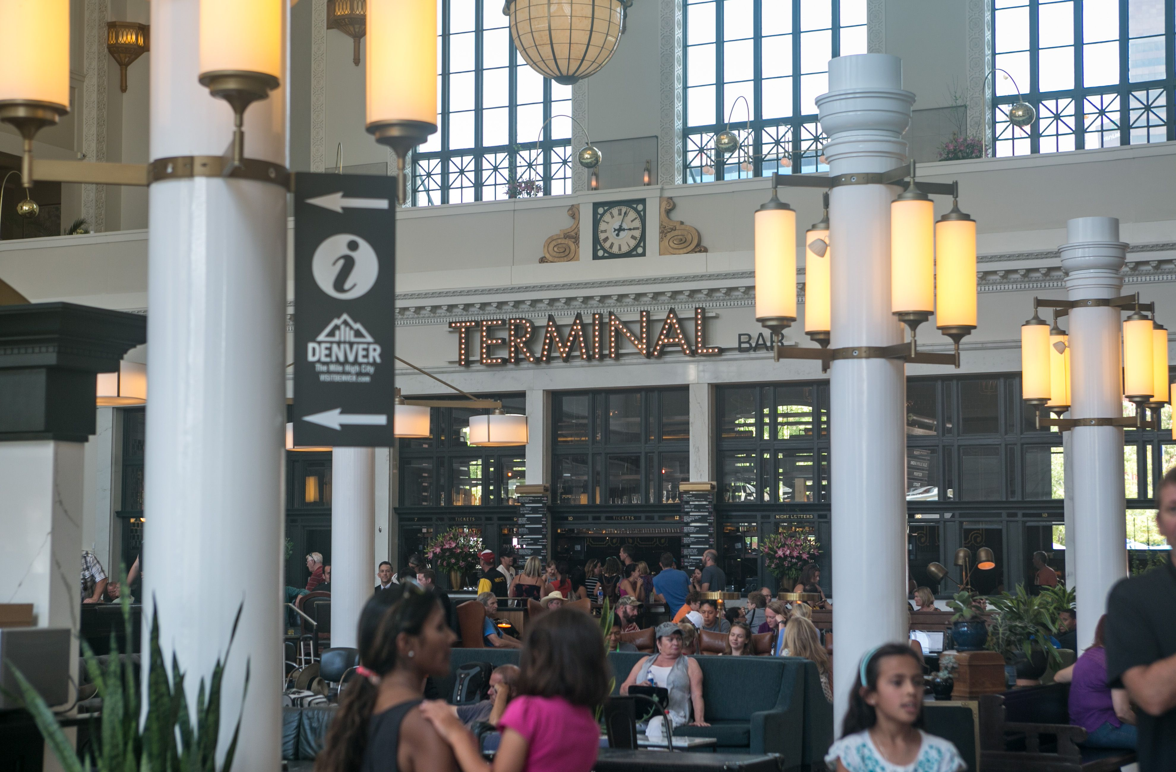 Denver Union Station Train Terminal