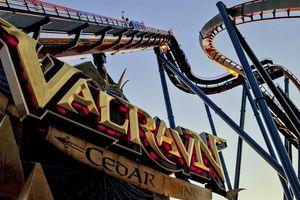 Valravn coaster Cedar Point