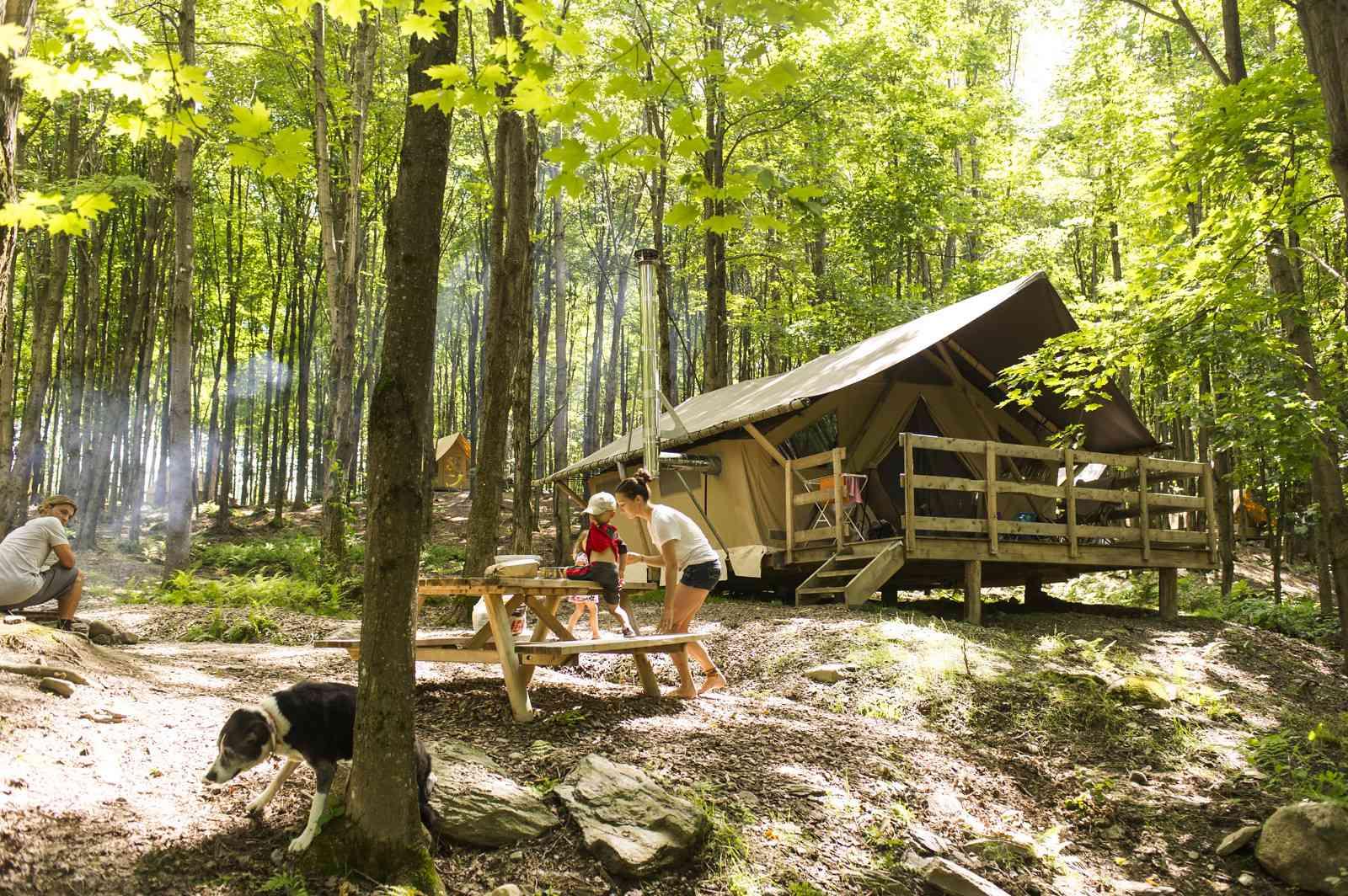 Huttopia Adirondacks