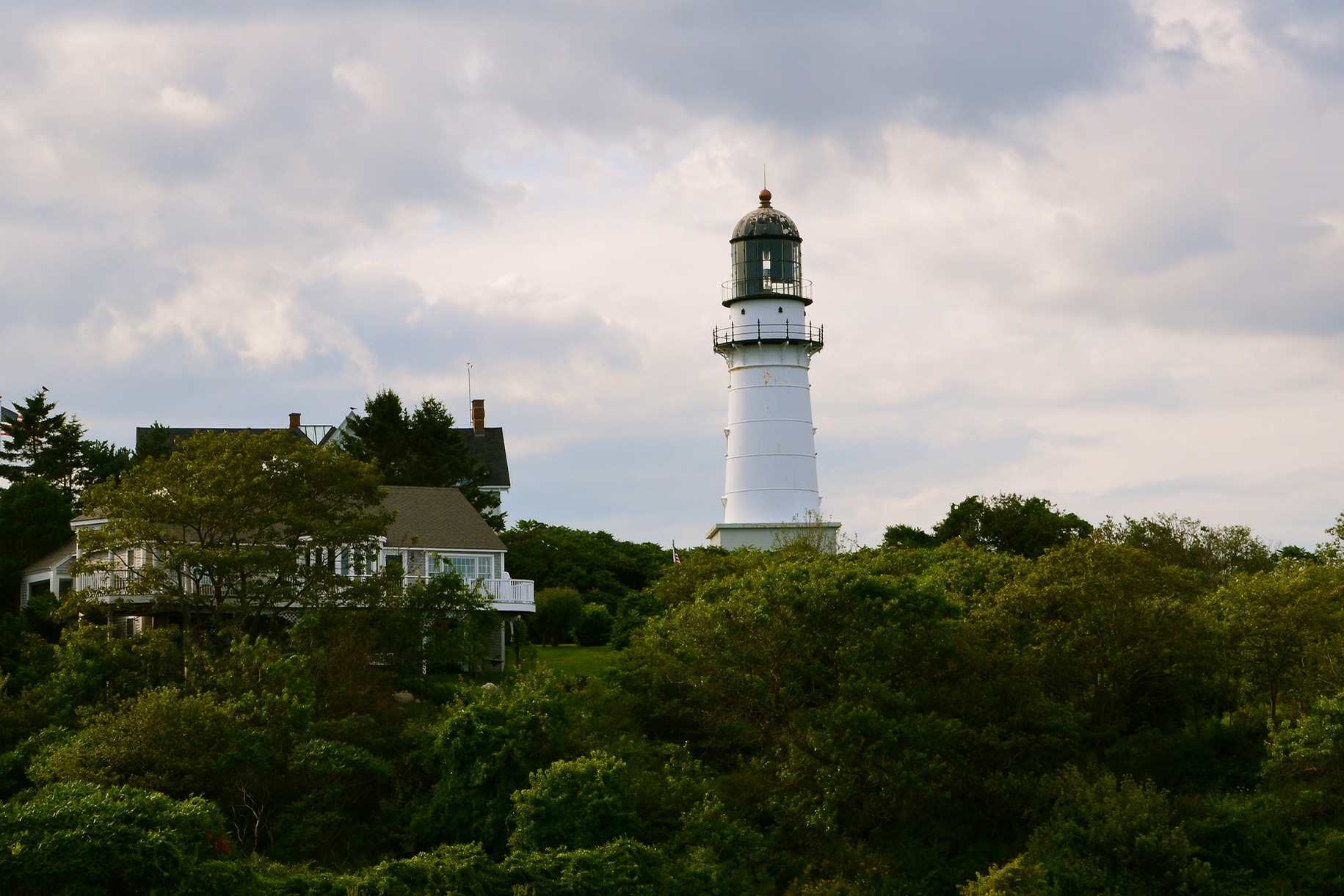 Cape Elizabeth Light Near Portland