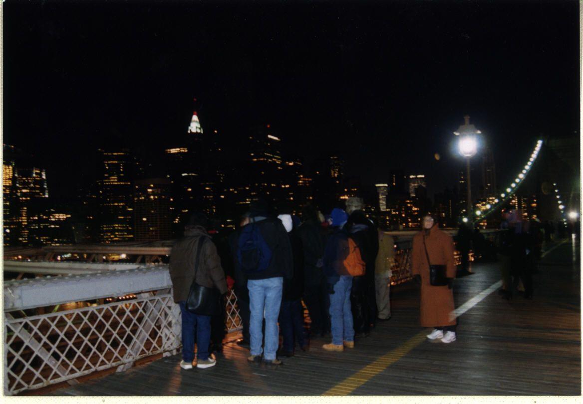 New Year's Eve Brooklyn Bridge Walk