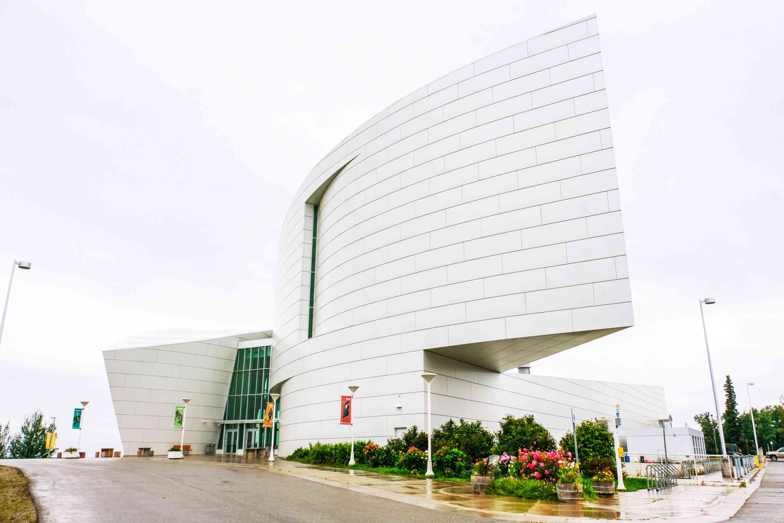 Exterior of the Museum of the North