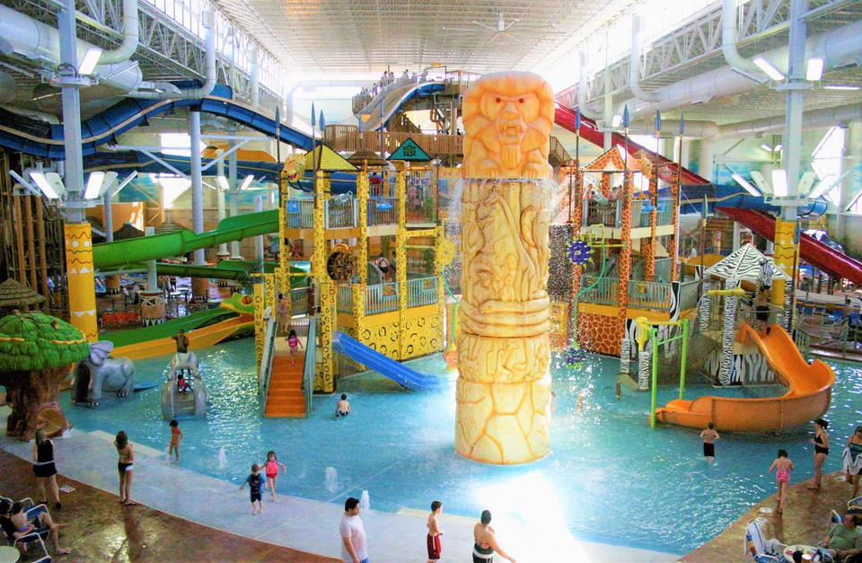 Kalahari indoor water park Sandusky Ohio
