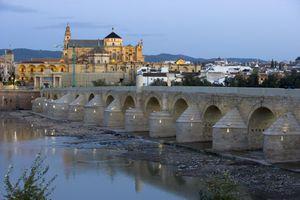 Cordoba Bridge roman on the Guadalquivir
