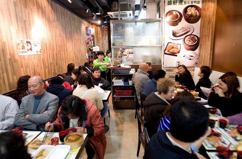 Tim Ho Wan dim sum restaurant in Hong Kong