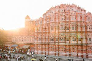 Hawa Mahal or palace of the winds, Jaipur India.