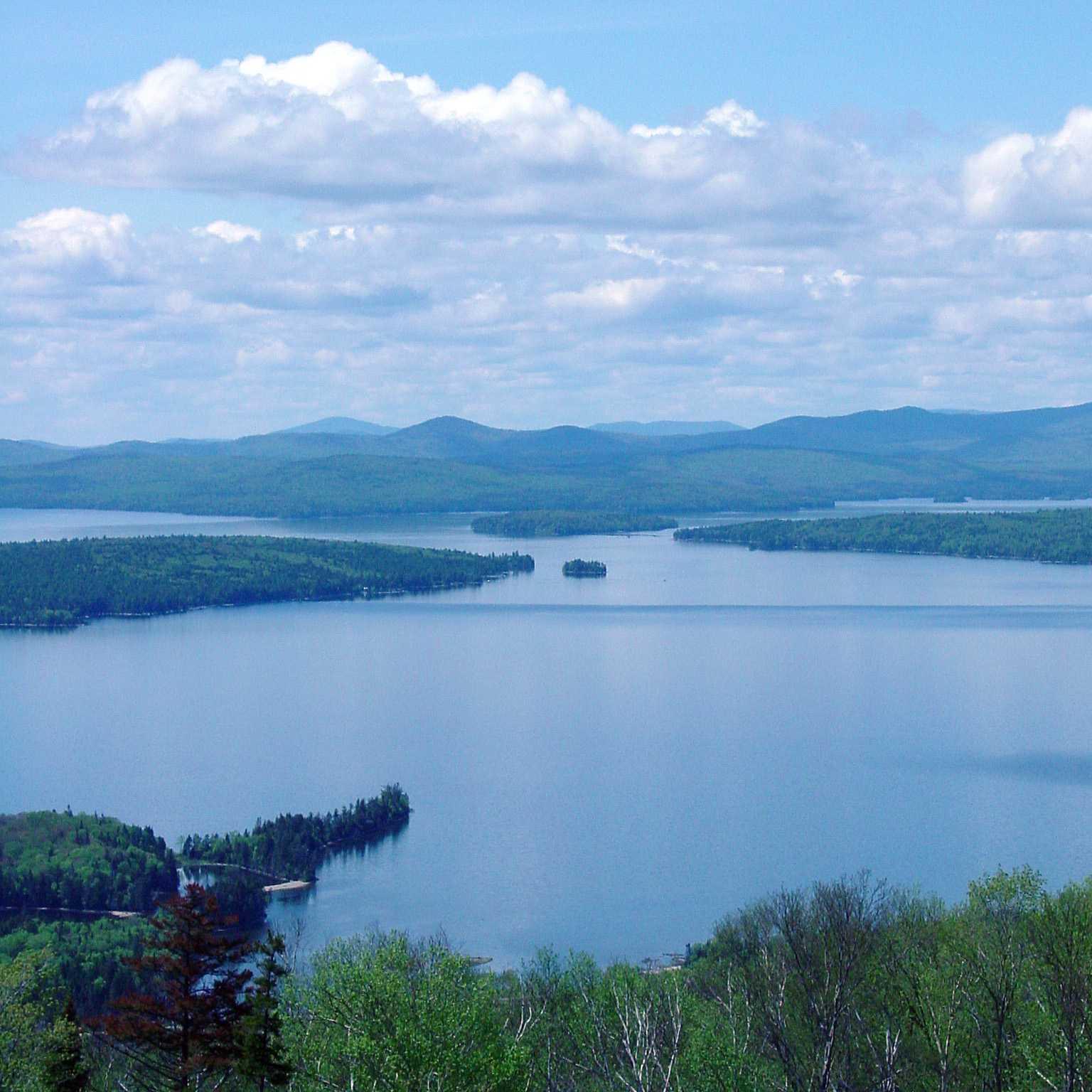 Mooselookmeguntic Lake Photo from Height of Land