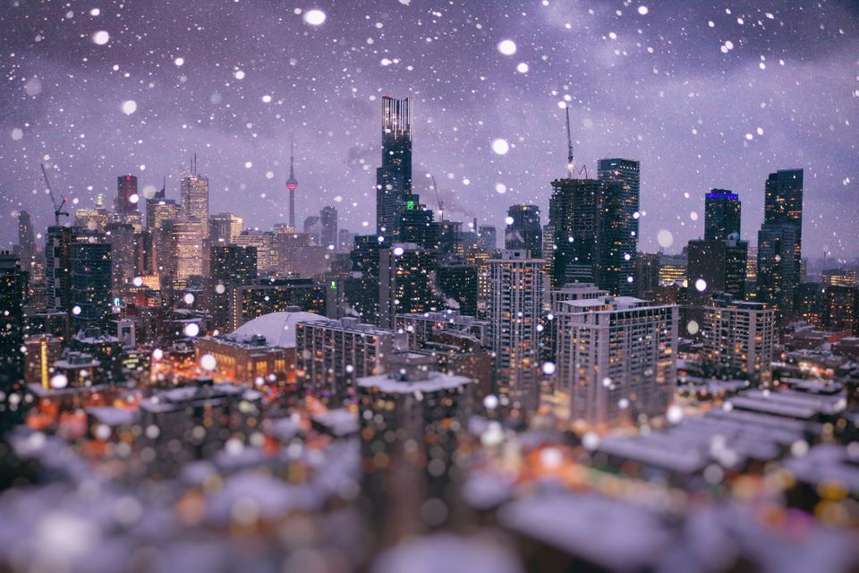 Magic Winter Wonder City of Toronto
