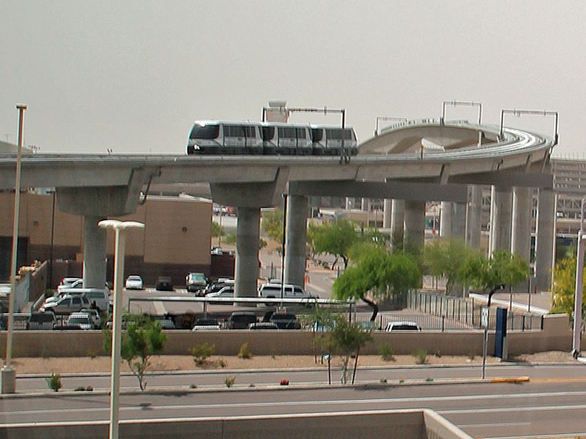 Phoenix Airport to Commuter Train Connection