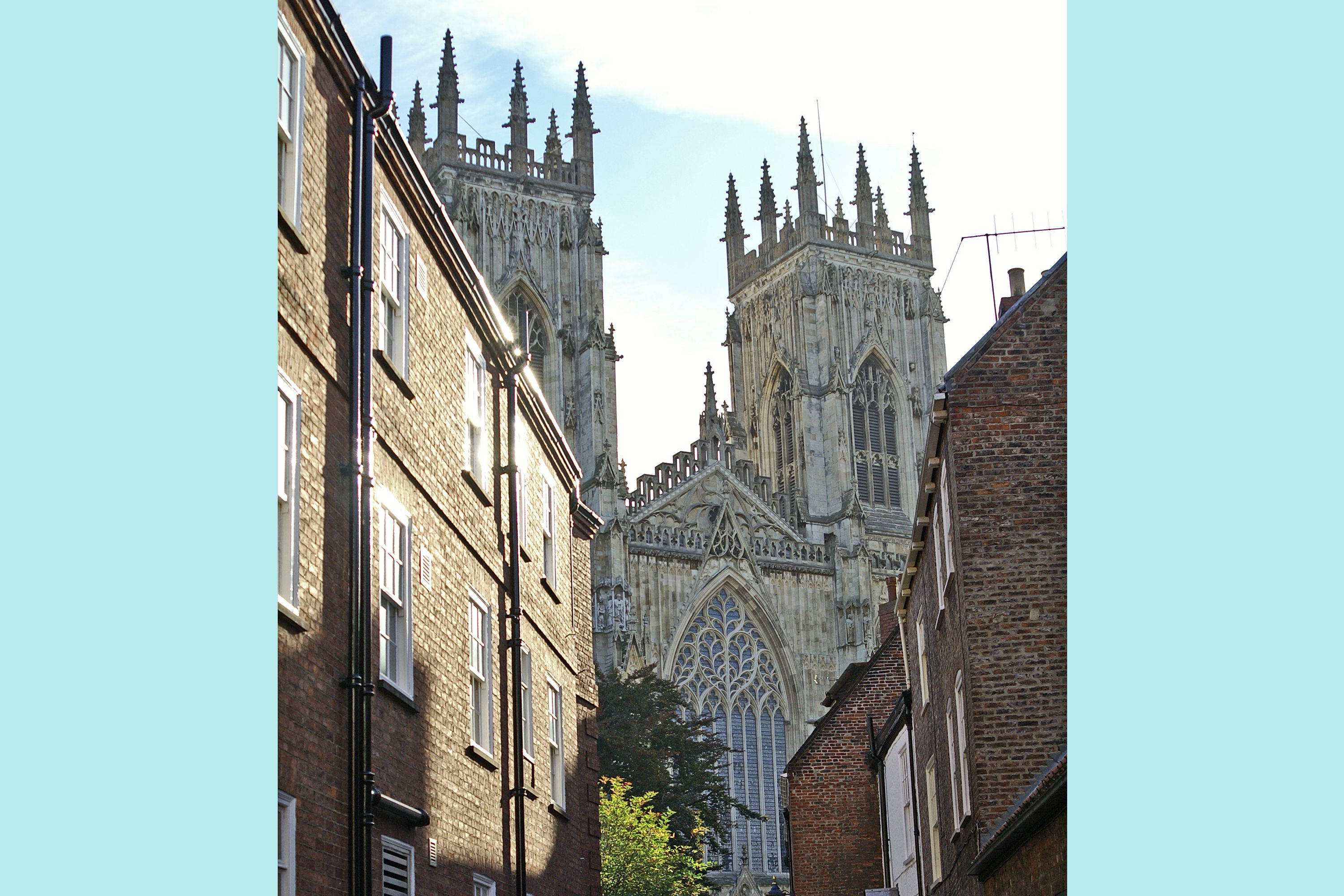 View of The West Front of York Cathedral