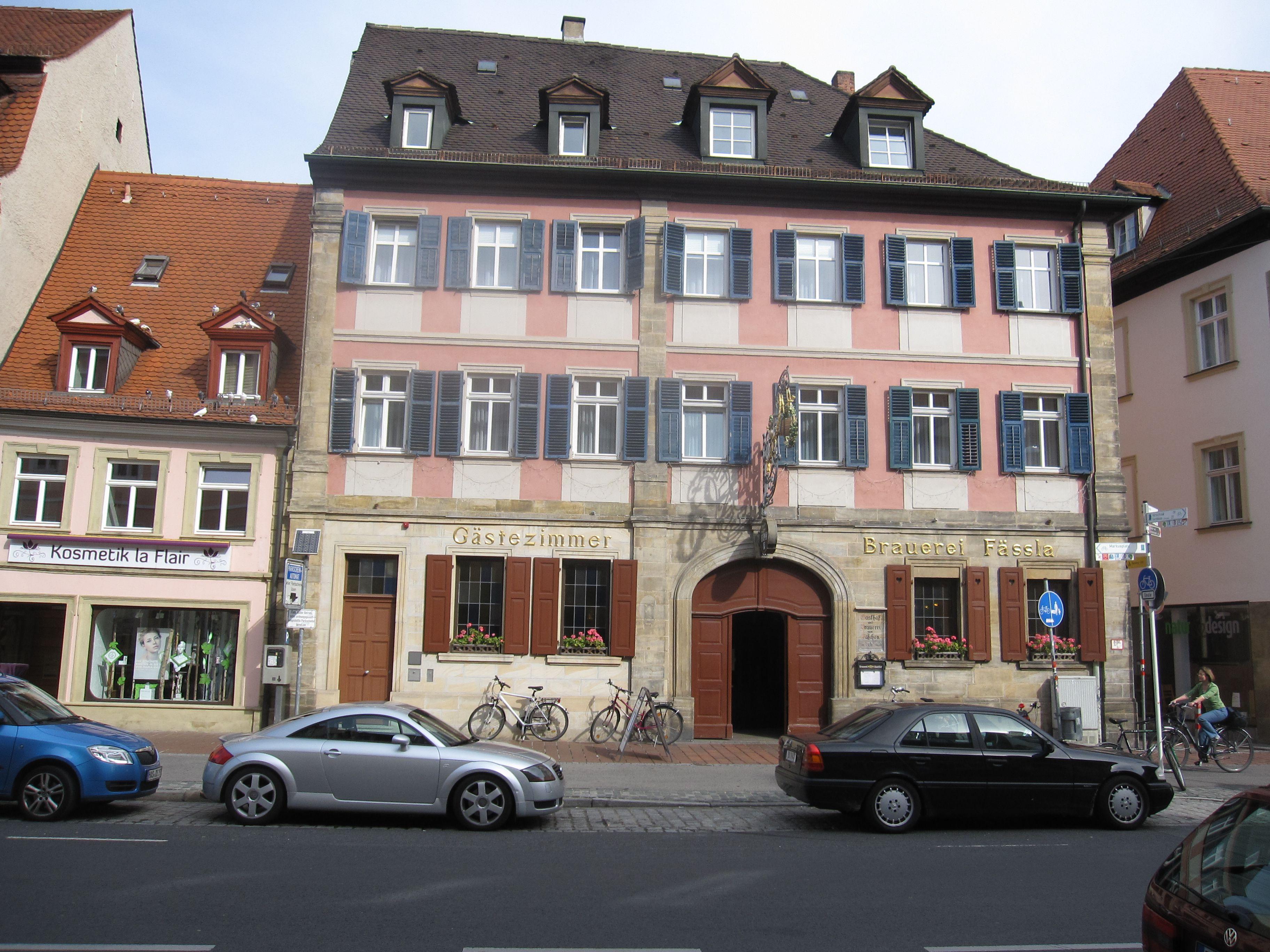 Exterior of the Brauerei Fassla