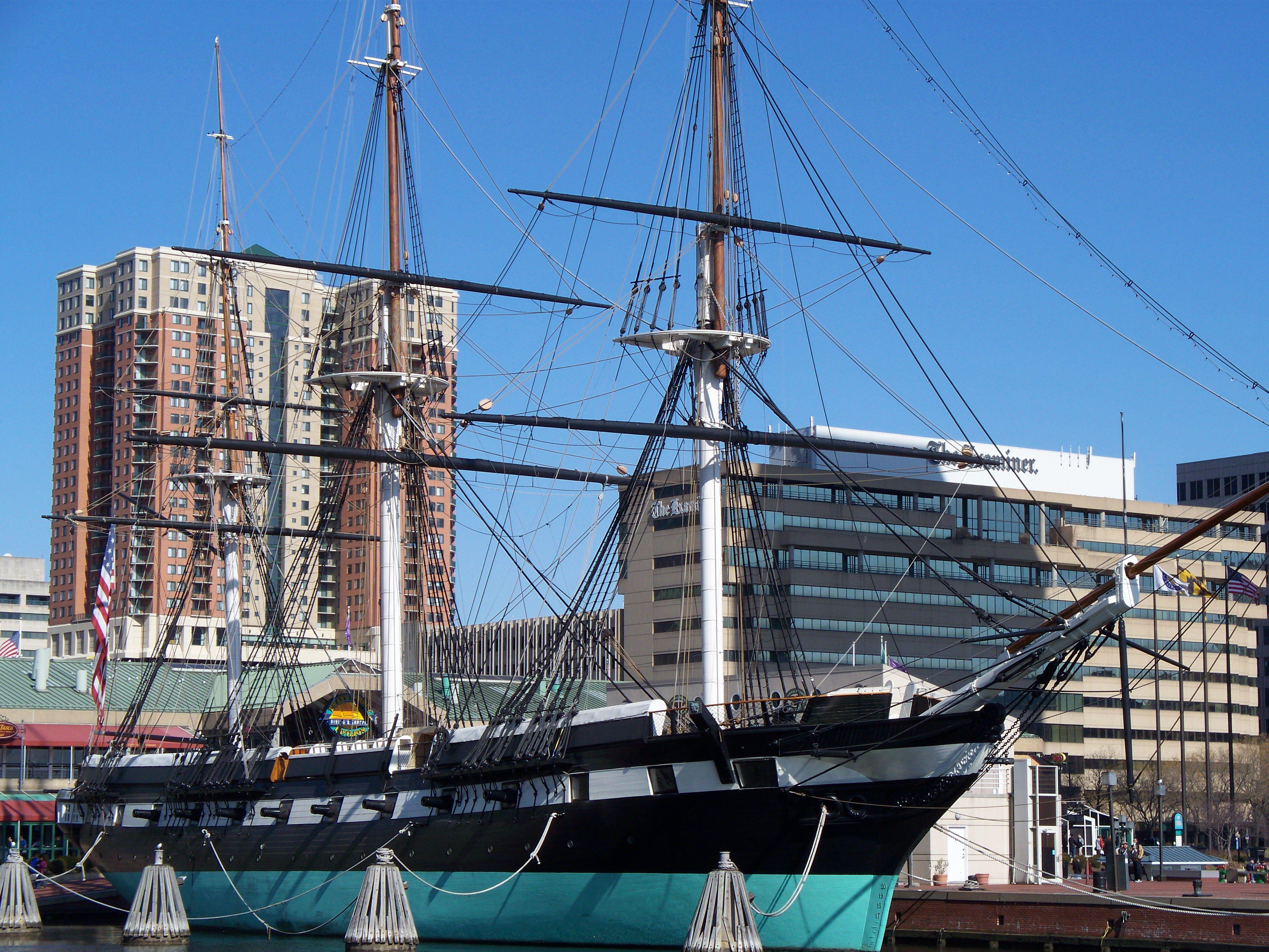 Historic Ships In Baltimore's Inner Harbor
