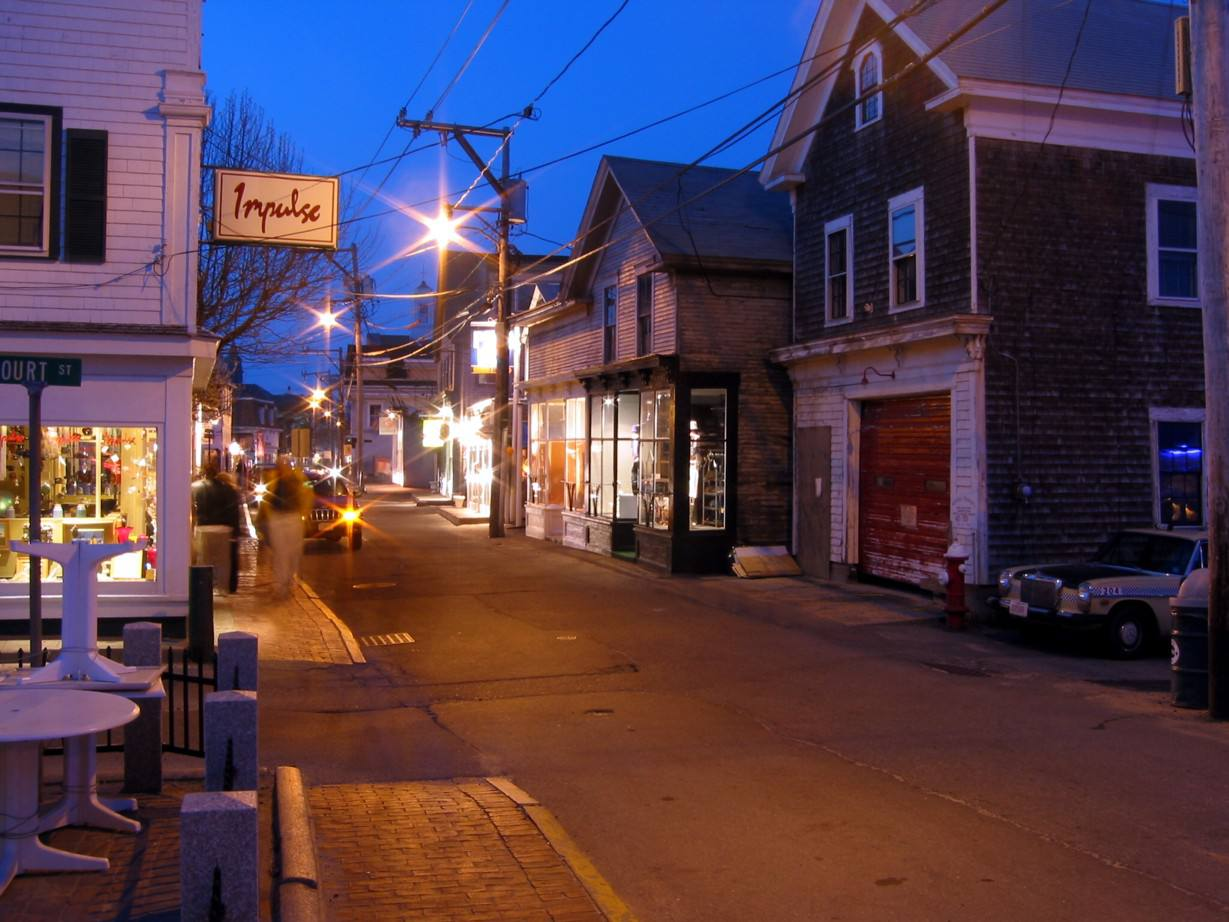 Calle comercial, Provincetown
