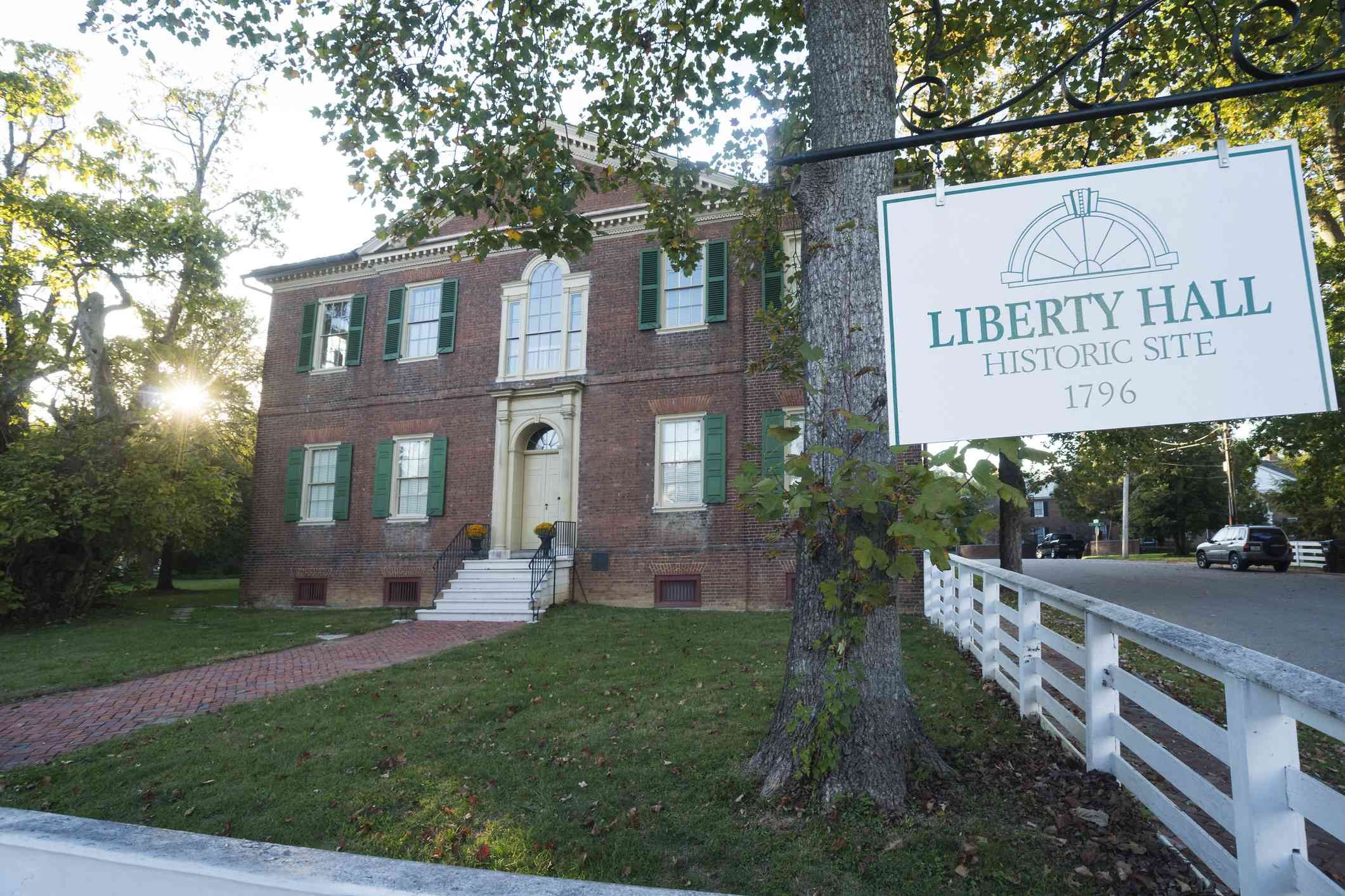 Liberty Hall tourist site in Frankfort, KY