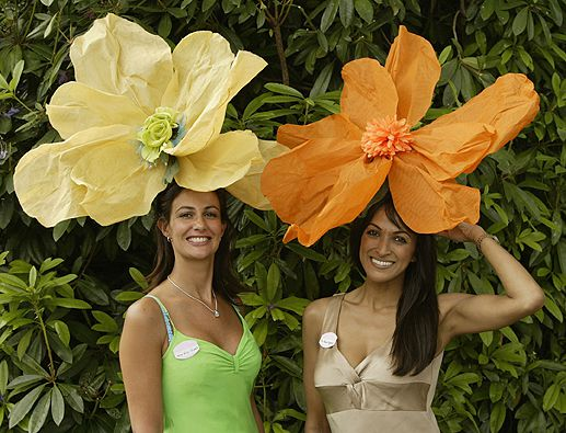 Outrageous Hats at Royal Ascot