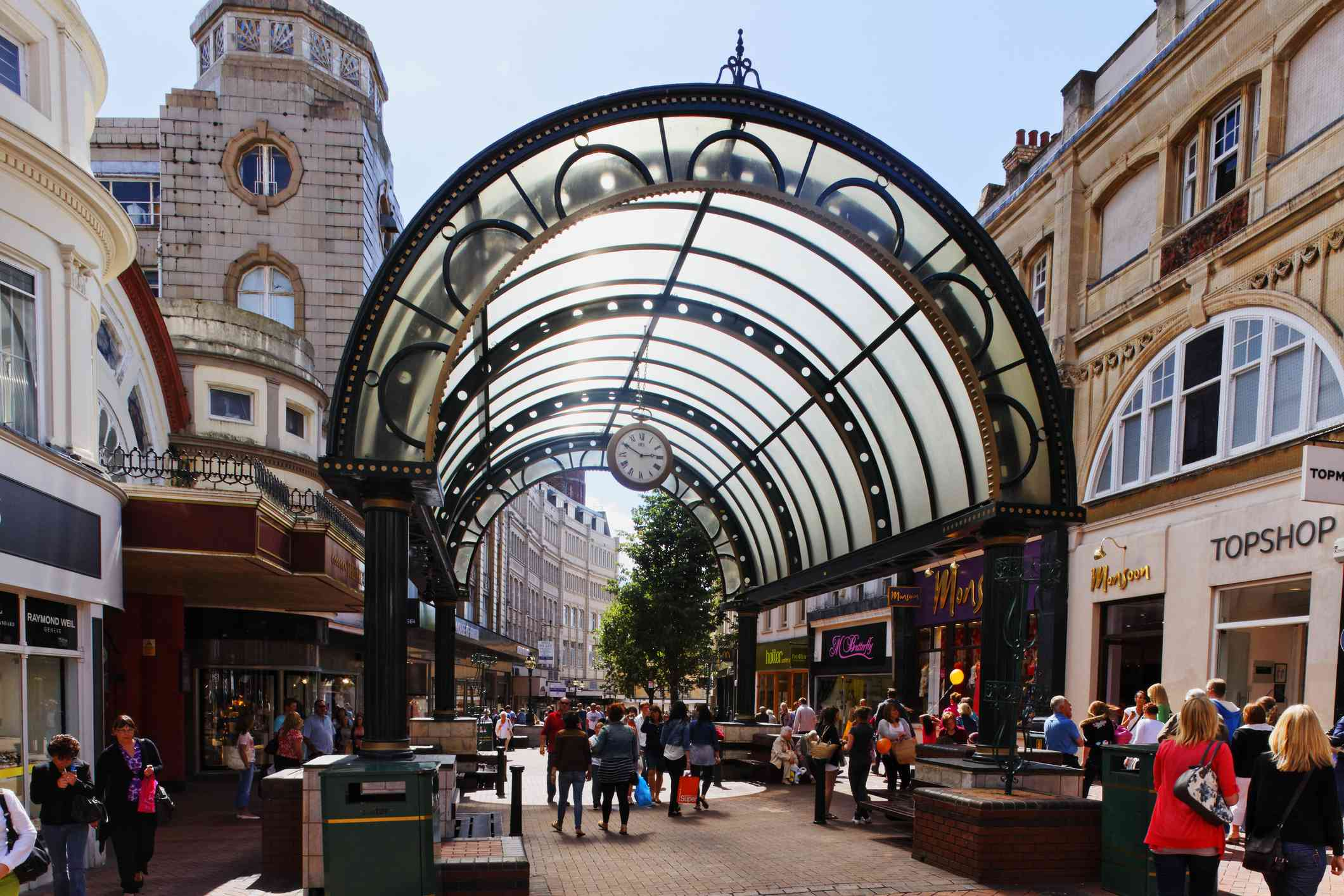 Victorian arcade, The Arcade, Bournemouth