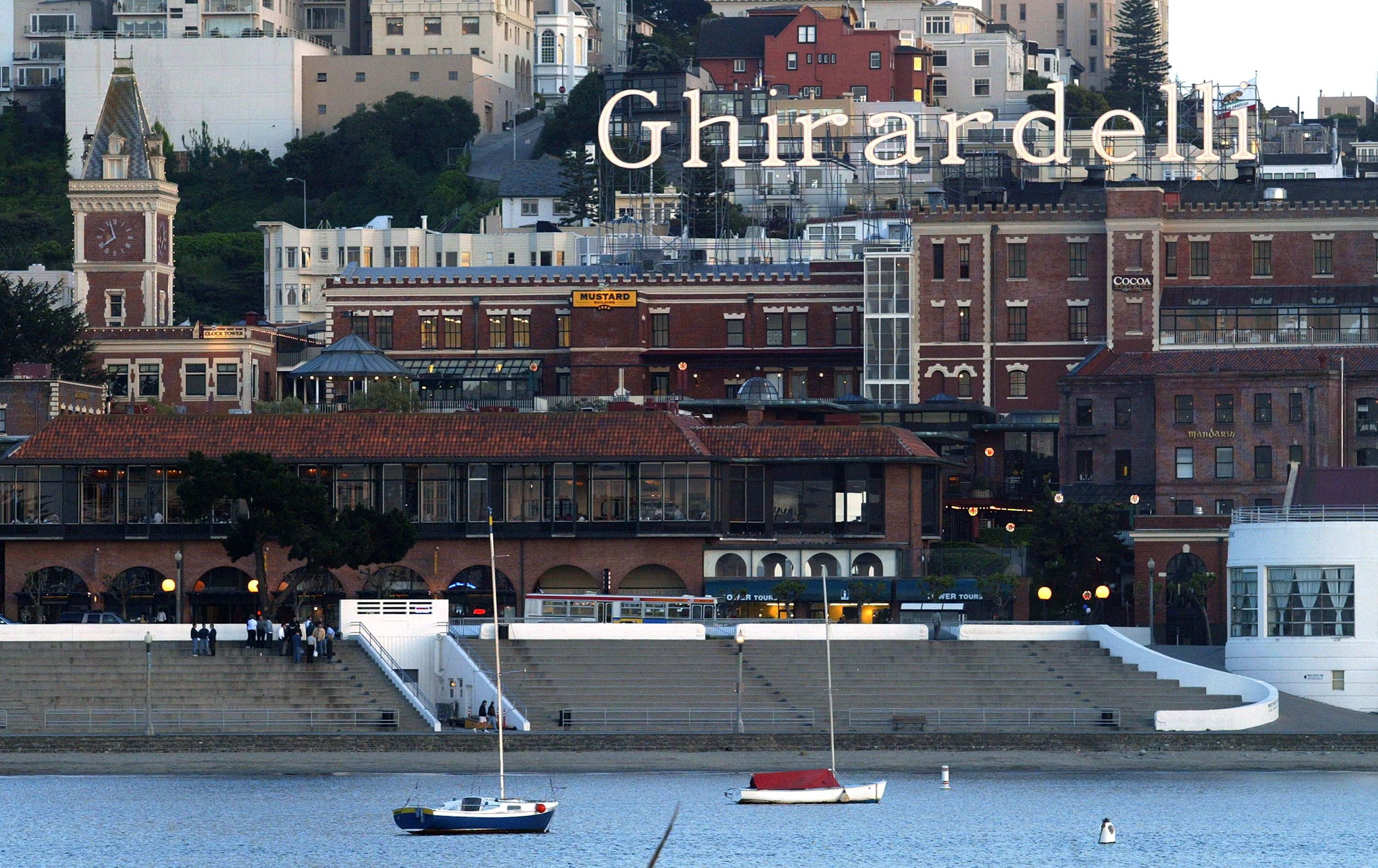 Ghirardelli From Bay