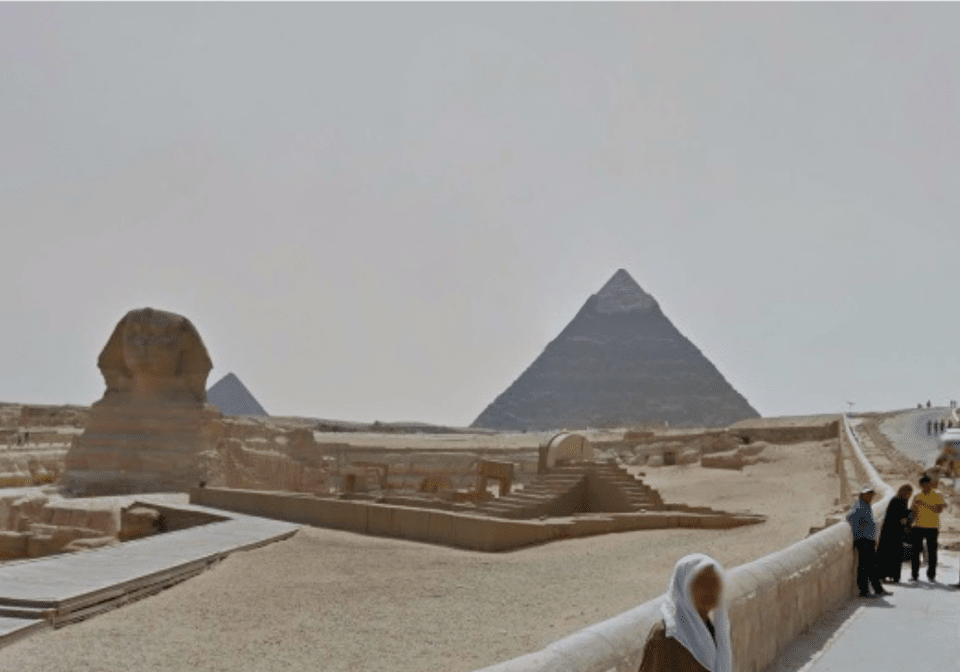 Egyptian Pyramids on Google Street View